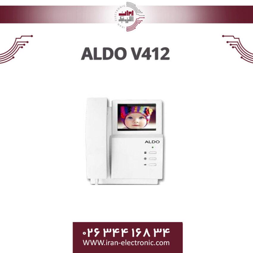 مانیتور آیفون تصویری آلدو مدل Aldo V412