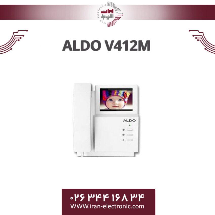 مانیتور آیفون تصویری آلدو مدل Aldo V412M