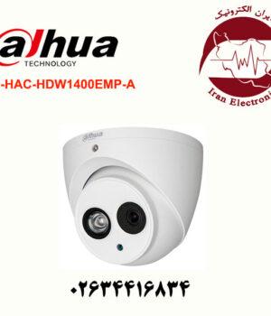 دوربین مداربسته میکروفون دار دام داهوا مدل DH-HAC-HDW1400EMP-A