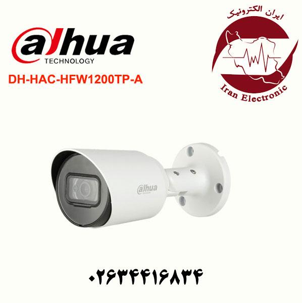 دوربین مدار بسته بولت داهوا مدل Dahua DH-HAC-HFW1200TP-A