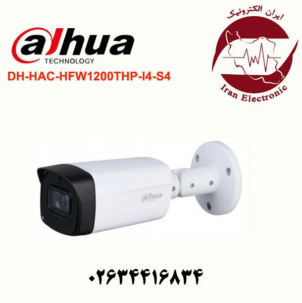 دوربین مدار بسته بولت داهوا مدل Dahua DH-HAC-HFW1200THP-I4-S4