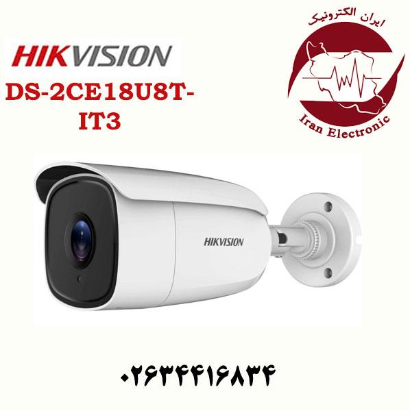 دوربین مداربسته بالت هایک ویژن مدل HikVision DS-2CE18U8T-IT3