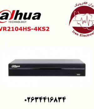 دستگاه ان وی ار 4 کانال داهوا مدل Dahua NVR2104HS-4KS2