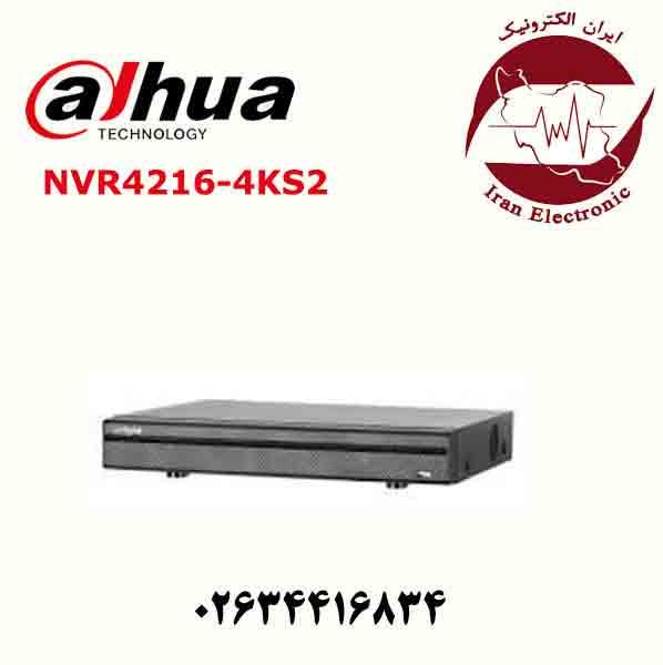 دستگاه ان وی ار 16 کانال داهوا مدل Dahua NVR4216-4KS2