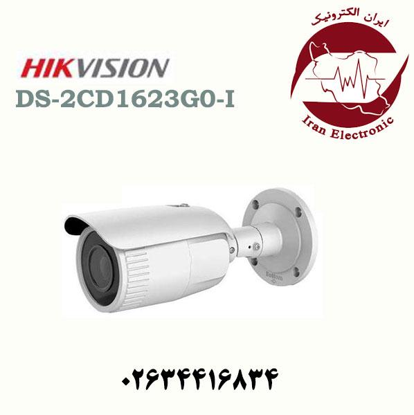دوربین مداربسته بولت آی پی هایک ویژن مدل HikVision DS-2CD1623G0-I