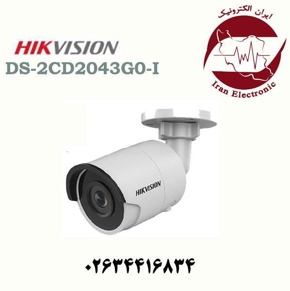 دوربین مداربسته بولت آی پی هایک ویژن مدل HikVision DS-2CD2043G0-I