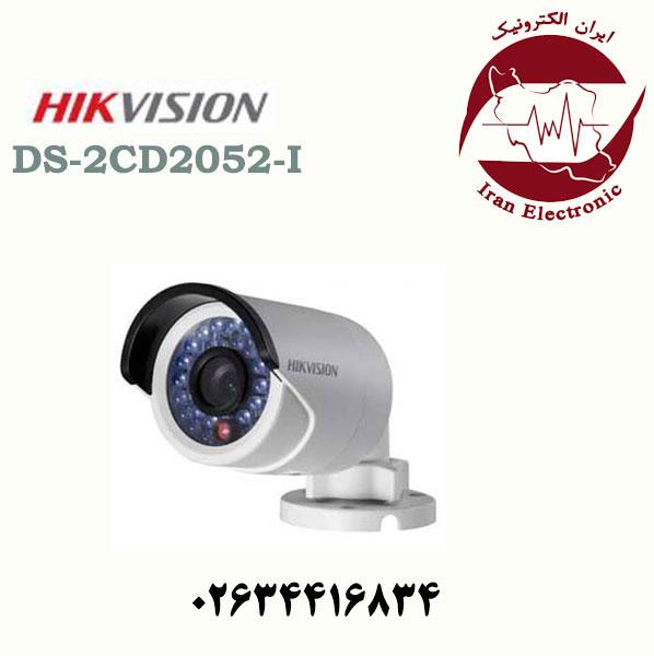 دوربین مداربسته بولت آی پی هایک ویژن مدل HikVision DS-2CD2052-I