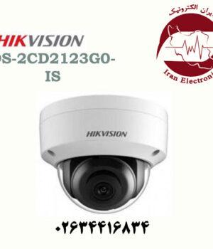 دوربین مداربسته دام آی پی هایک ویژن مدل HikVision DS-2CD2123G0-IS