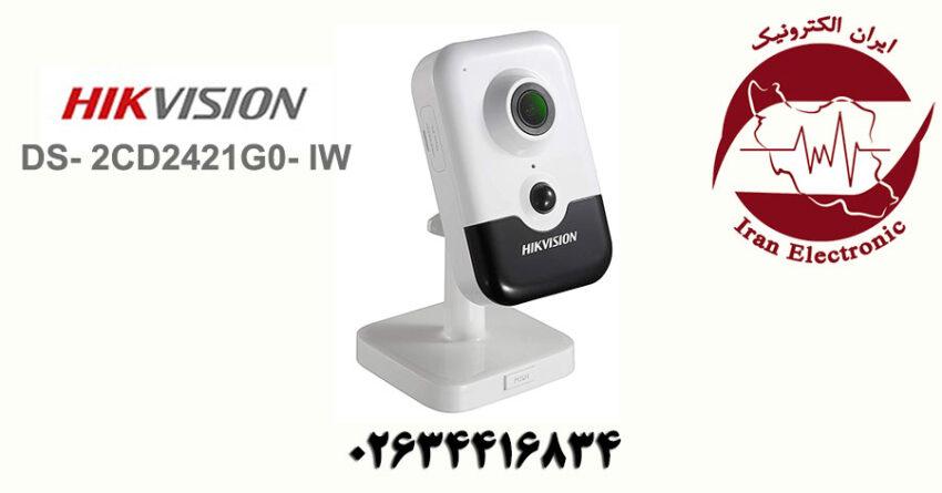 دوربین مداربسته وای فای هایک ویژن مدل HikVision DS-2CD2421G0-IW