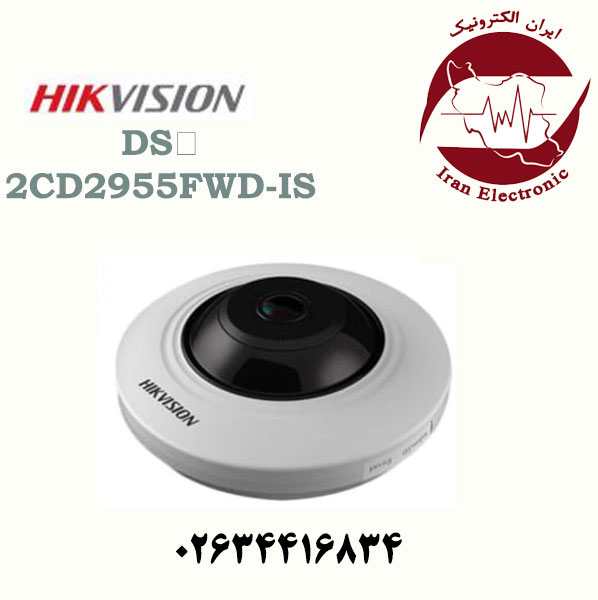 دوربین مداربسته دام آی پی هایک ویژن مدل HikVision DS-2CD2955FWD-IS