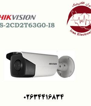 دوربین مداربسته بولت آی پی هایک ویژن مدل HikVision DS-2CD2T63G0-I8