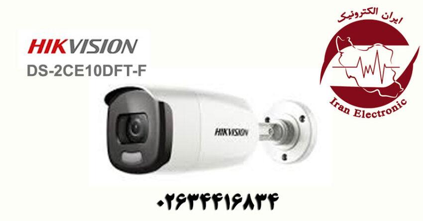 دوربین مداربسته بولت آی پی هایک ویژن مدل HikVision DS-2CE10DFT-F