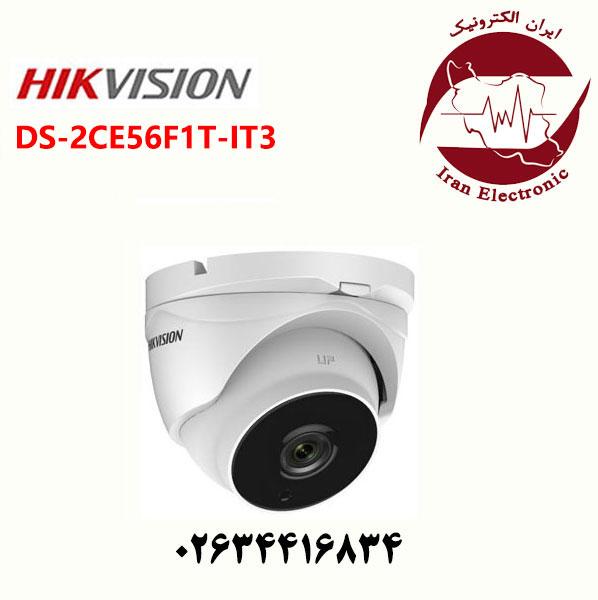 دوربین مدار بسته هایک ویژن دام مدل HikVision DS-2CE56F1T-IT3