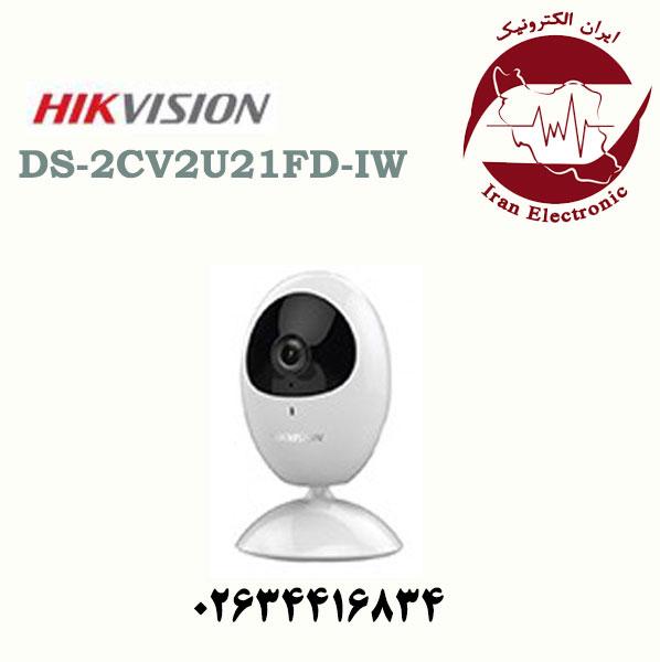 دوربین مدار بسته وای فای هایک ویژن مدل HikVision DS-2CV2U21FD-IW