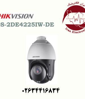 دوربین مداربسته آی پی گردان اسپید دام هایک ویژن مدل Hikvision DS-2DE4225IW-DE
