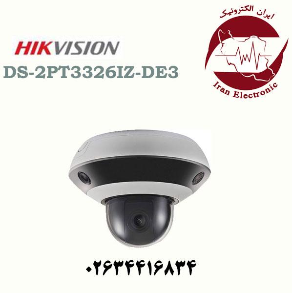 دوربین مداربسته هایک ویژن 360 درجه مدل HikVision DS-2PT3326IZ-DE3