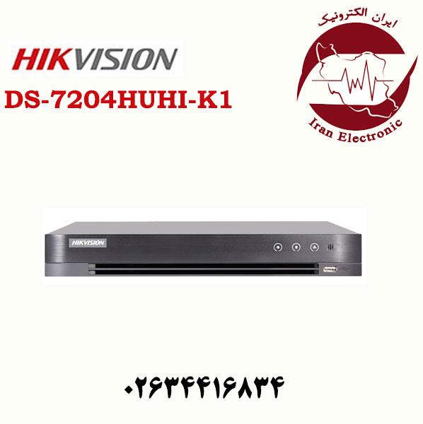 دستگاه دی وی ار هایک ویژن مدل HikVision DS-7204HUHI-K1