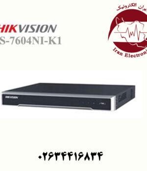 دستگاه ان وی آر هایک ویژن مدل HikVision DS-7604NI-K1-4P
