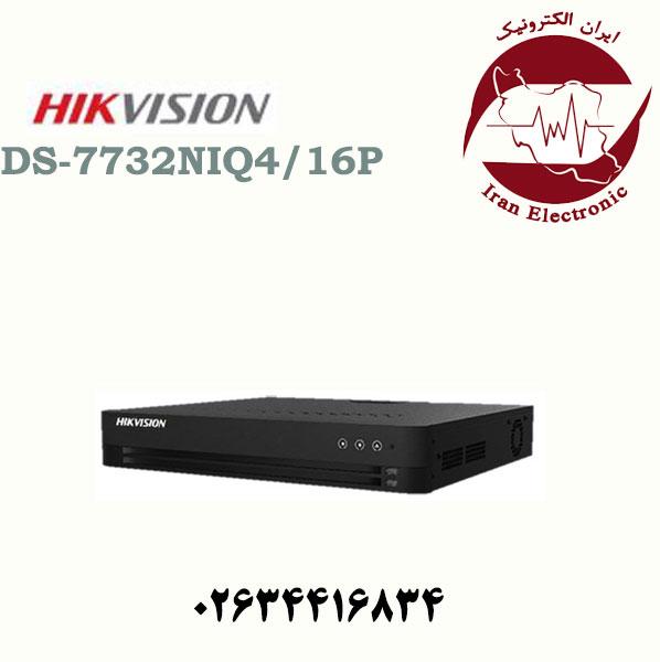 دستگاه ان وی آر 32 کانال هایک ویژن مدل HikVision DS-7732NI-Q4/16P