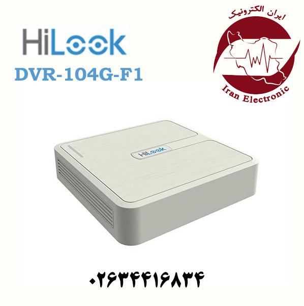 دستگاه دی وی آر 4 کانال هایلوک مدل HiLook DVR-104G-F1