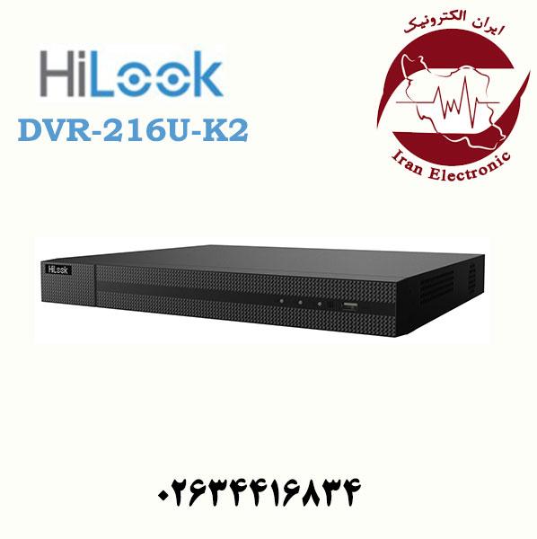 دستگاه دی وی آر 16 کانال هایلوک مدل HiLook DVR-216U-K2