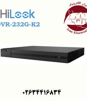 دستگاه دی وی آر 32 کاناله هایلوک مدل HiLook DVR-232G-K2