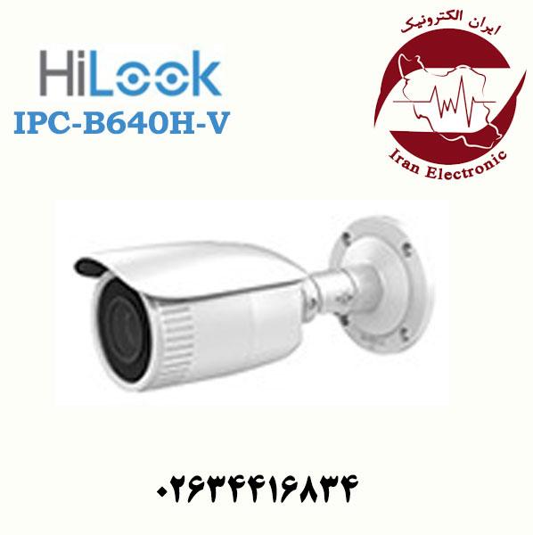 دوربین مداربسته بولت آی پی هایلوک مدل HiLook IPC-B640H-V