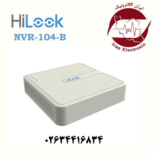 دستگاه ان وی آر 4 کانال هایلوک مدل HiLook NVR-104-B