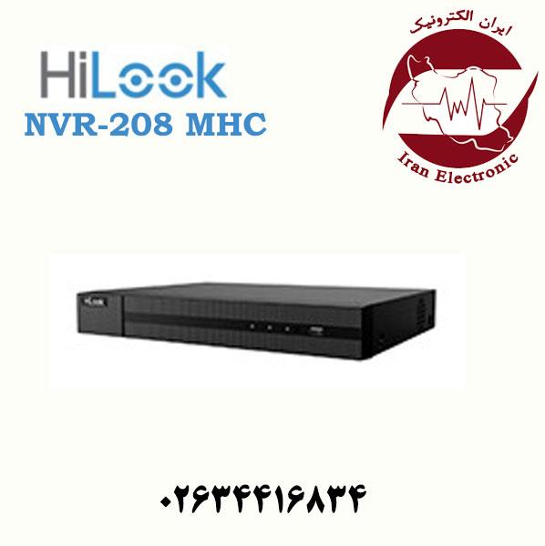 دستگاه ان وی آر هایلوک مدل HiLook NVR-208MH-C