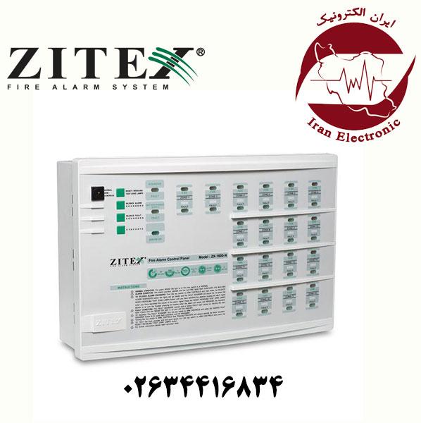 کنترل پنل اعلام حریق 10 زون زیتکس مدل Zitex ZX-10 PRO