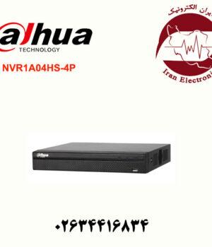 دستگاه NVR(ان وی آر) 4 کانال داهوا مدل Dahua NVR1A04HS-4P