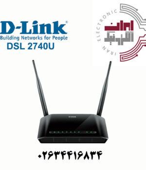 مودم ۴پورت دی لینک مدل DLINK DSL-2740U