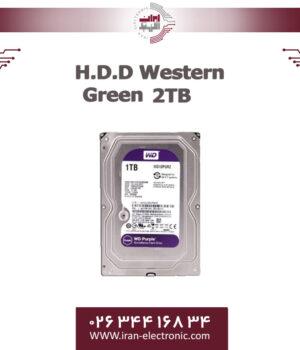 هارددیسک وسترن بنفش دو ترا بایت H.D.D Western Purple 2TB