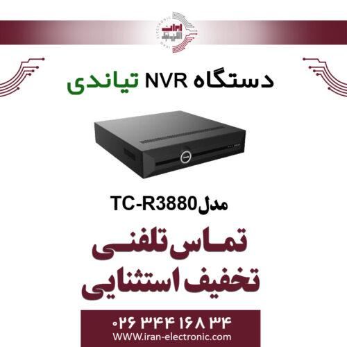 دستگاه NVR تیاندی 80کانال مدل Tiandy TC-R3880