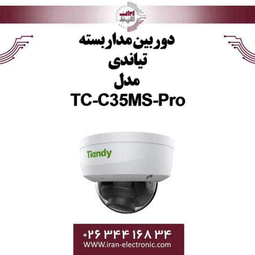 دوربین مداربسته IP دام تیاندی مدل Tiandy TC-C35MS-Pro
