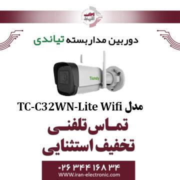 دوربین مداربسته IP بولت تیاندی مدل Tiandy TC-C32WN-Lite Wifi